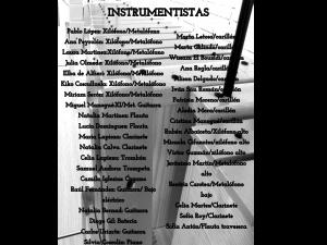 Despedida 4ESO atras instrumentistas